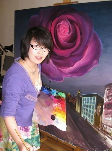 夏云超 清华大学美术学院硕士,曾任大学讲师。现为职业画家。