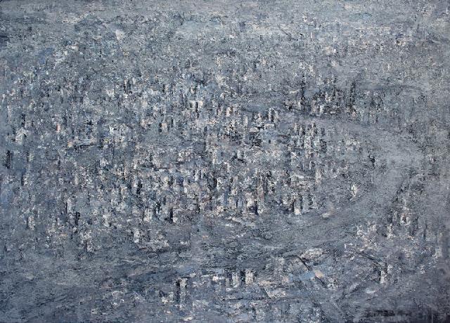 城逝之二 王小双 布面油画