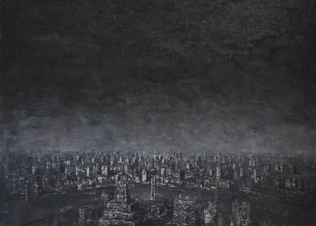 记忆之城之三 王小双 油画