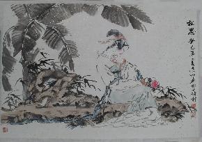 水墨-仕女8