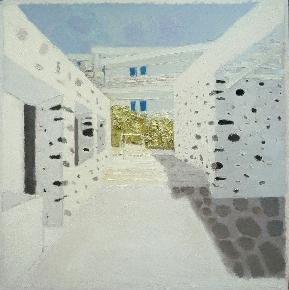 作品 路过系列之---斑点墙