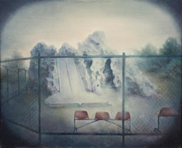 沉寂的记忆3 黄赛峰 布面油画