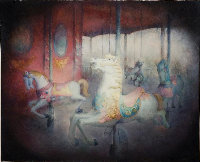 沉寂的记忆4 黄赛峰 布面油画