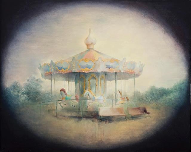 沉寂的记忆5 黄赛峰 布面油画