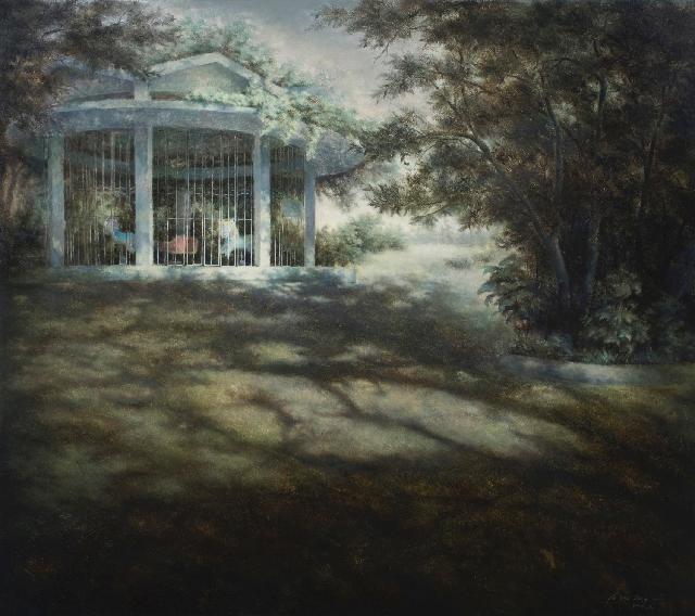 沉寂的记忆12 黄赛峰 布面油画