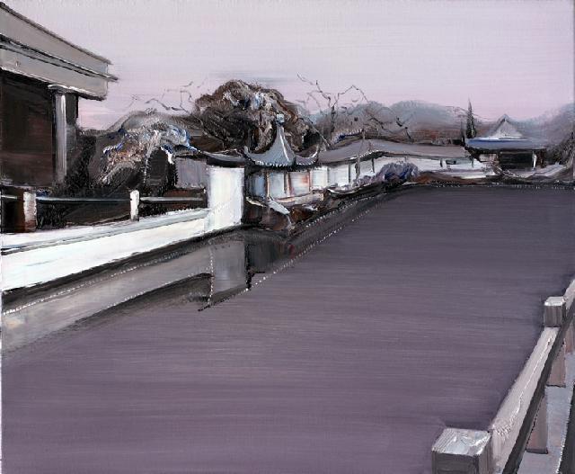 古典园林-37 吴俊卉 油画颜料 亚麻布 杉木内框 手工底