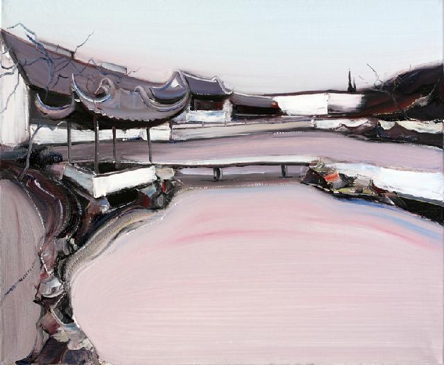 古典园林-42 吴俊卉 油画颜料 亚麻布 杉木内框 手工底