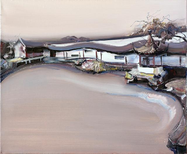 古典园林-43 吴俊卉 油画颜料 亚麻布 杉木内框 手工底