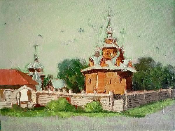 任敏2010俄罗斯归来 ———小幅油画写生展