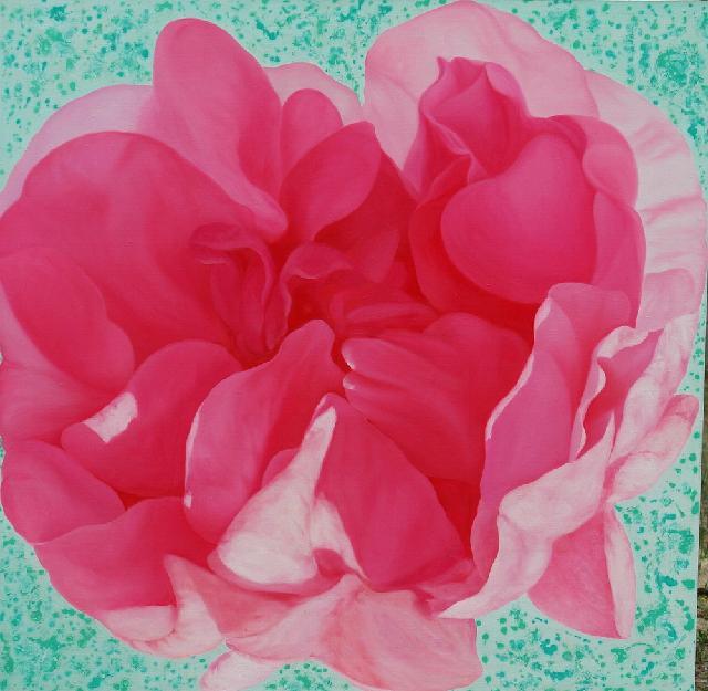 《美丽的生命循环2》 夏云超 布面油画