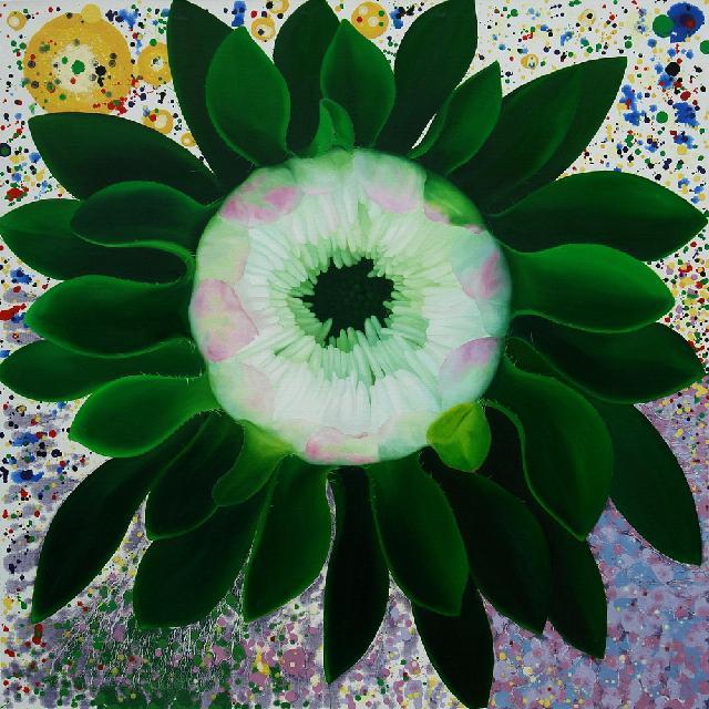 《美丽的生命循环1》 夏云超 油画