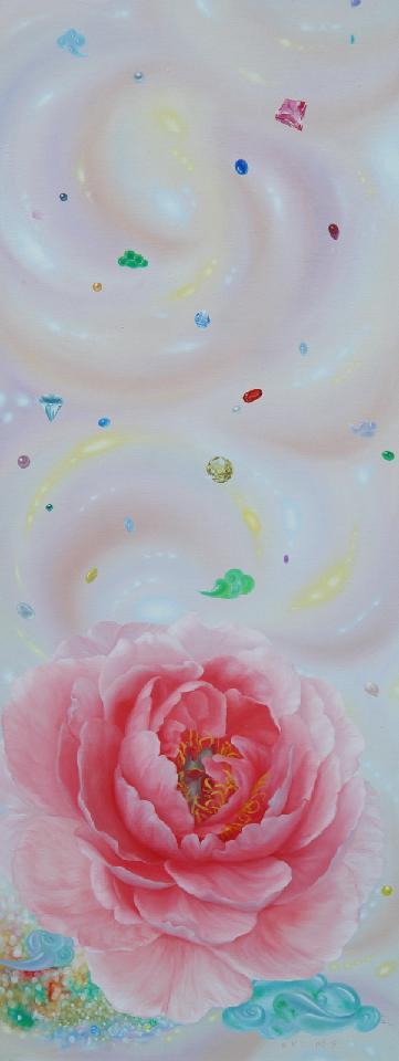 《有钱人的生活》 夏云超 布面油画