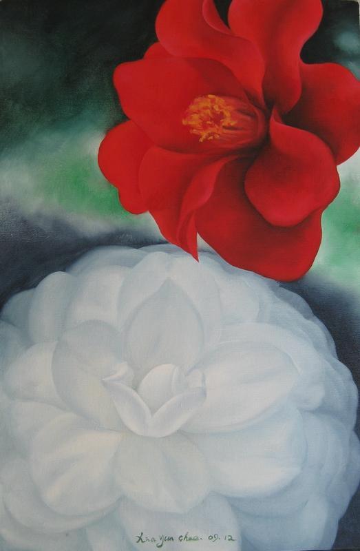 《热情与柔情》 夏云超 布面油画