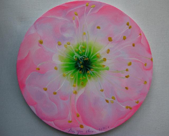 《一朵花的春天》 夏云超 布面油画