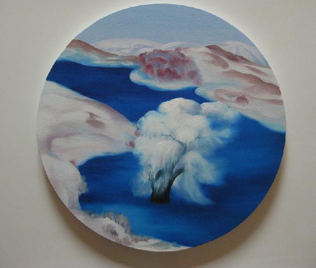 《坝上四季——冬》 夏云超 布面油画