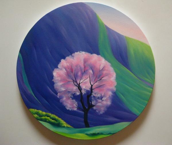 《坝上四季——春》 夏云超 布面油画