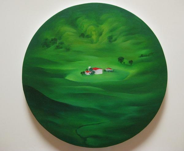 《坝上四季——夏》 夏云超 布面油画