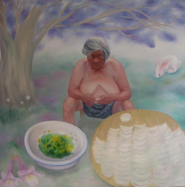 《最柔软的回忆》 夏云超 布面油画