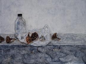 瓶子与莲蓬