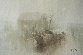 有雾的上午