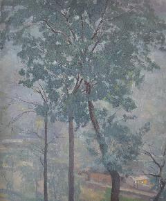 《雾气林虑山》