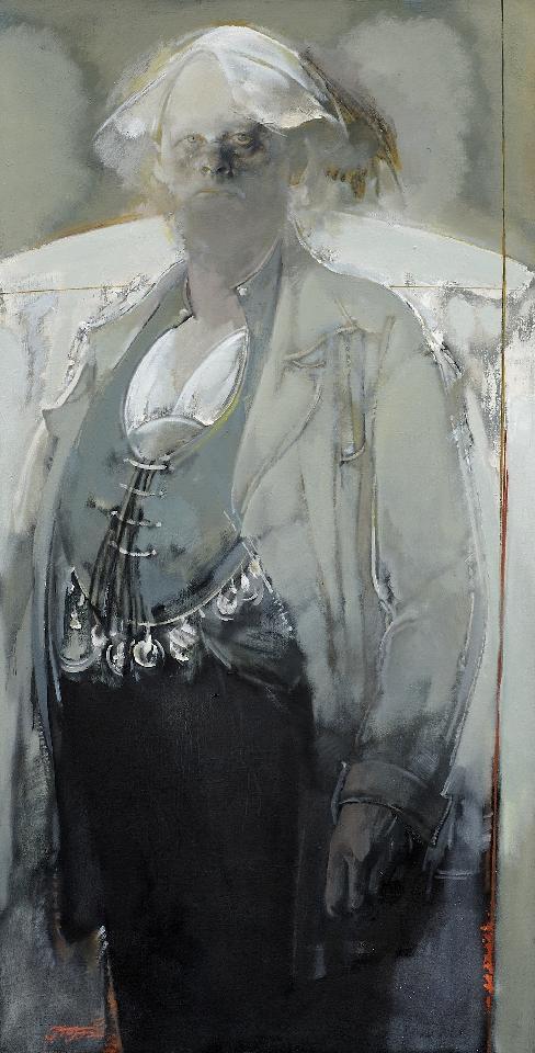 站立的男人NO.2 姜建忠(特邀名家) 布面油画