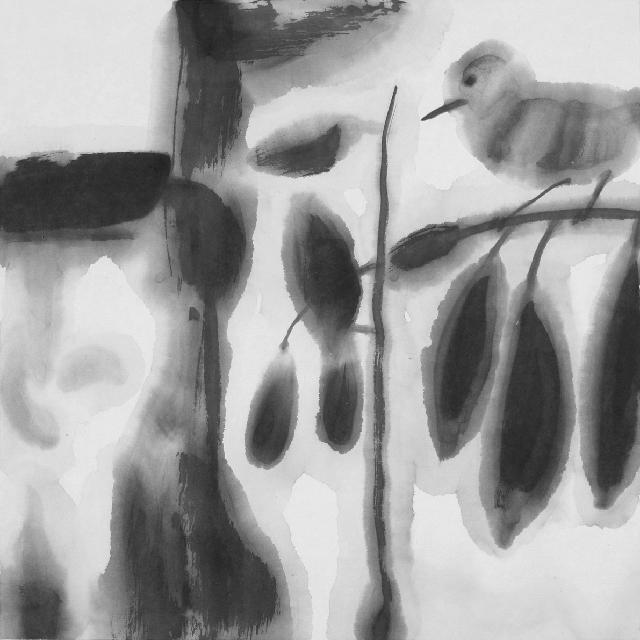 画鸟系列93-1 王鸿才 纸本水墨