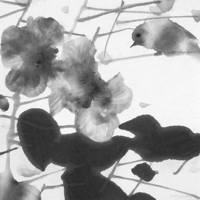 画鸟系列99-1 王鸿才 纸本水墨
