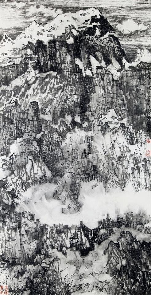 山水系列-4 陈平 纸本水墨