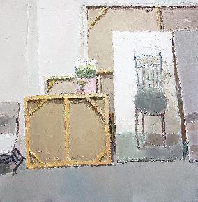 冯玮油画作品-12