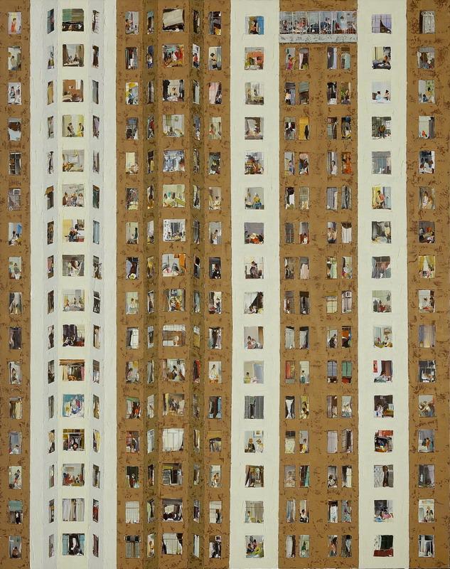 windows二 杜海军 画布油彩