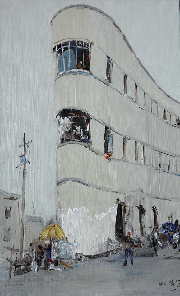 街景 杜海军 布面油彩