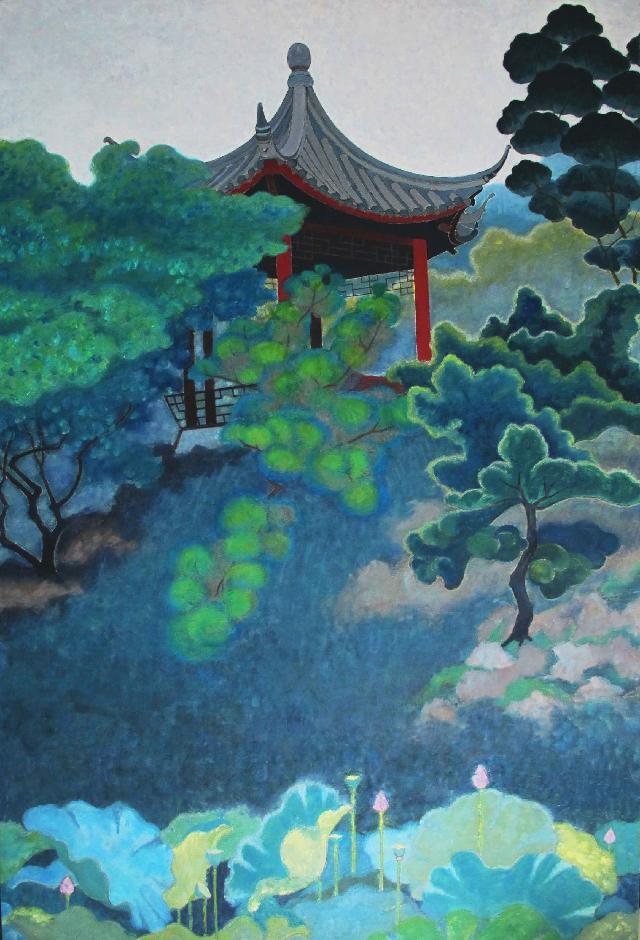 中国.景之八 王大志 布面油彩