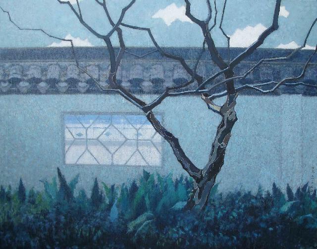 浮生观景图之十四 王大志 布面油彩