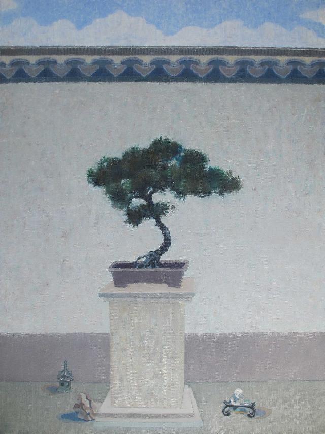 浮生观景图之十 王大志 布面油彩