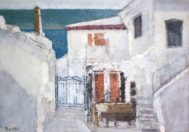 爱琴海* 黄阿忠(特邀名家) 画布油彩