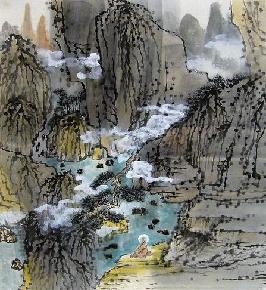 夏山幽居图-1-1-1