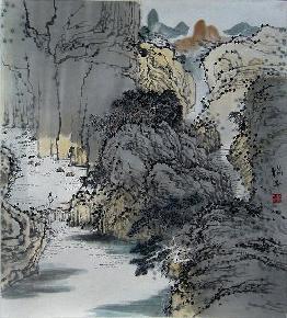 夏山幽居图-1-1