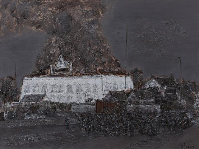 汉口1911 陈迪 布面油彩