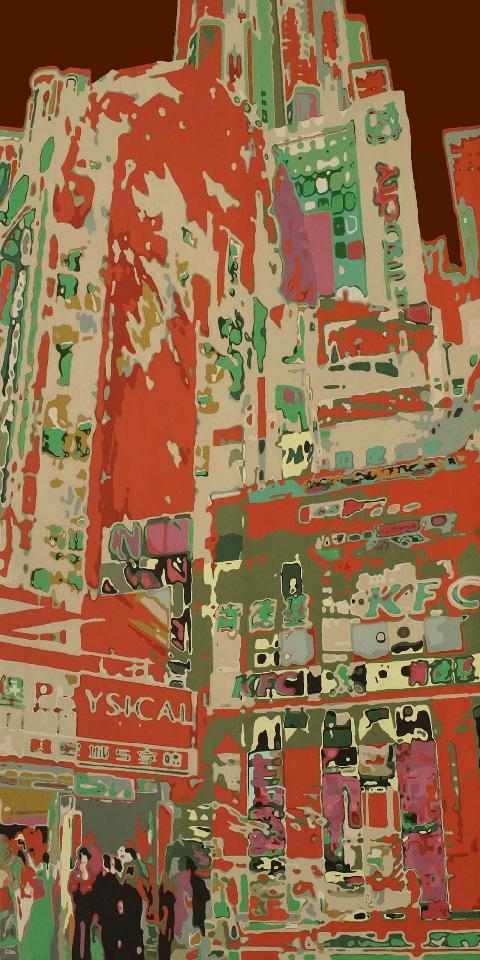 街景 杜永平 油画