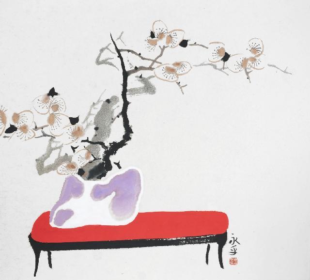 瓶画系列2013-4 杜永平 纸本水墨