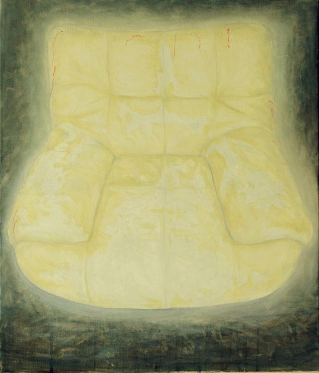 沙发1 何国盛 布面油彩