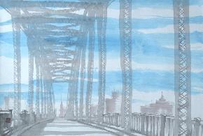 桥-纽约-光影
