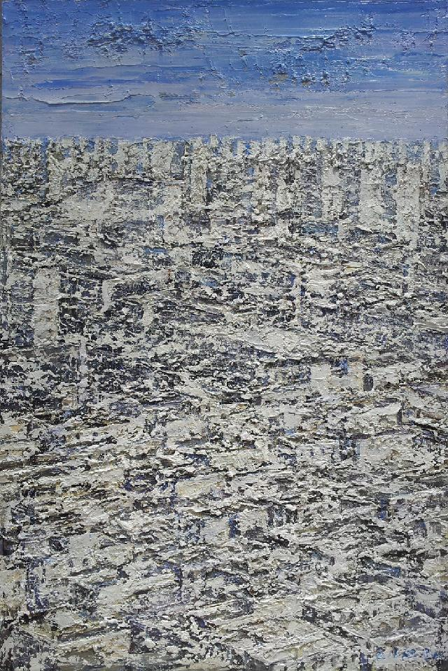 消失的城中村02 王小双 布面油画