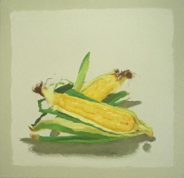 物禅 NO.1----玉米 任敏 画布油彩