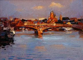 涅瓦河上的桥