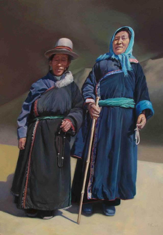 陈丹青与西藏