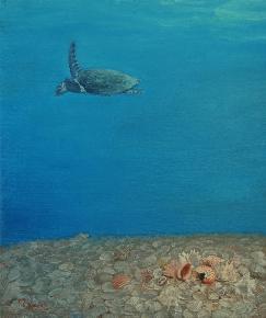 蓝色水域-2