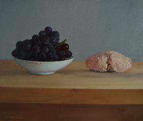 葡萄与元宝蟹