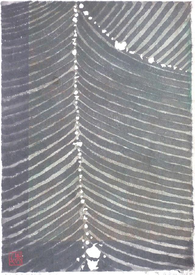 真水无香之龙骨10-10-3-1 徐增英 纸本水墨